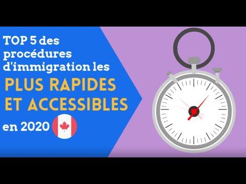 TOP 5 Des Procédures D'immigration Les Plus Rapides  Et Accessibles En 2020