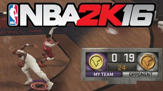 BIGGEST NBA 2K16 STAGE COMEBACK!! [DOWN 0 -19]