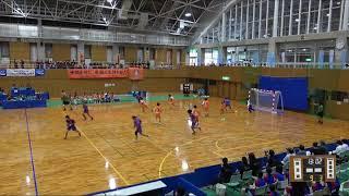 2018IH  女子ハンドボール 1回戦 埼玉栄(埼玉県) 対 青森中央(青森県)