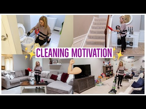 CLEAN WITH ME 2018 ✨💪🏼| ENTIRE HOUSE 🏡 | EXTREME CLEANING MOTIVATION | Brianna K