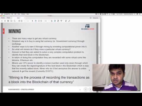 Lecture 2: Definition Blockchain Basics: A Practical Approach by Toshendra Sharma