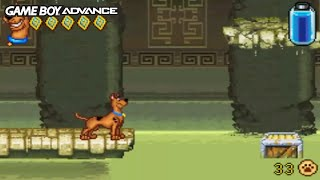 Scooby-Doo! Unmasked (Gameboy Advance Gameplay)