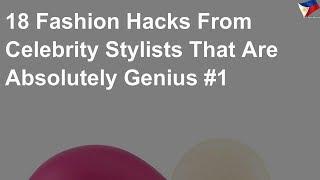 18 fashion hacks from celebrity stylists #1