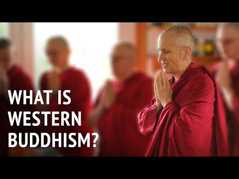 What is Western Buddhism?