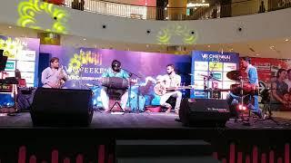 #03 SPANDA Concert at V.R.Chennai Mall | Sarvesh Karthick