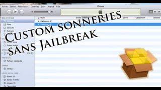 Avoir des sonneries personnalisées sur son iPhone sans Jailbreak
