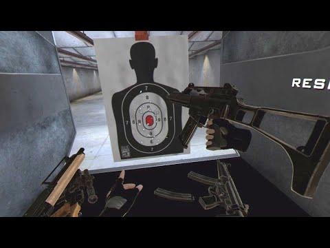 Gunclub Vr Psvr Sandbox Shooting Range Youtube