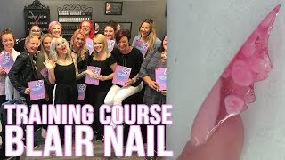 How to Sculpt a Blair Nail with Encapsulated Flowers - Private Tuition Course