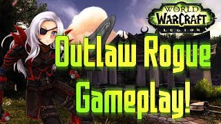 ♣ Sensus | WoW Legion Alpha | Outlaw Rogue Gameplay/Artifact Weapon Quest! [Patch 7.0.1]