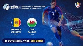 Live: Moldova U-21 - Tara Galilor U-21 // Preliminariile CE-2021 11.10.2019