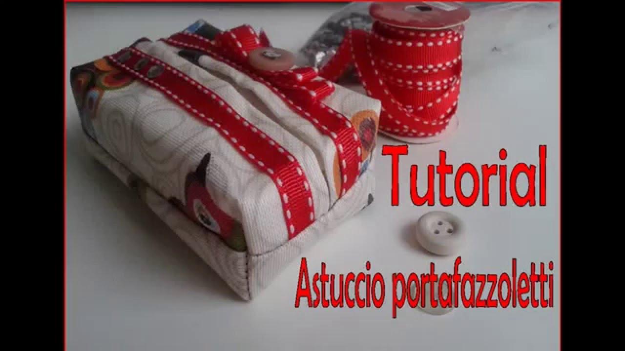 Cartamodello Divanetto Porta Fazzoletti.Tutorial Portafazzoletti Youtube