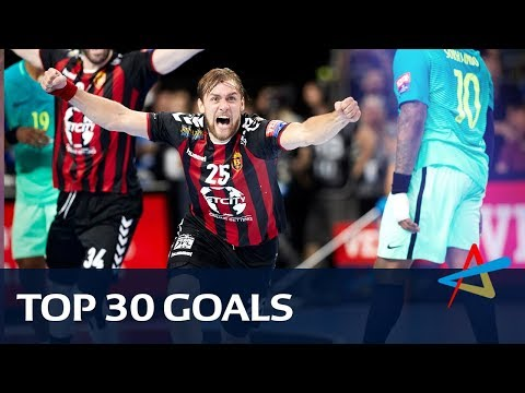 Top 30 goals of the 2017 VELUX EHF Champions League
