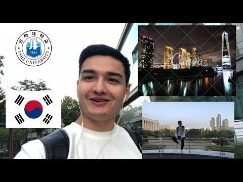 Koreyadagi Hayotimdan Bir Kun (Inha University) A Day In The Life At Inha In Korea