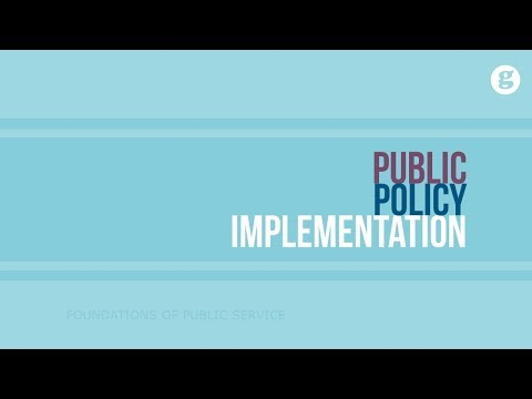 public-policy-implementation