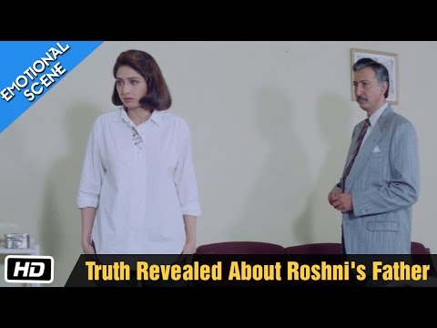 Truth Revealed About Roshni's Father - Movie Scene - Gumrah - Sridevi, Reema Lagoo