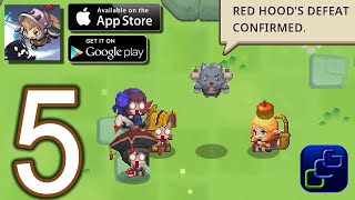 Guardian Tales Android iOS Walkthrough - Part 5 - World 1: Red Hood's Hideout, Tower, Rift