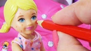 Мультик Барби Игра с куклами Дочка разыграла маму Barbie Play game for Kids