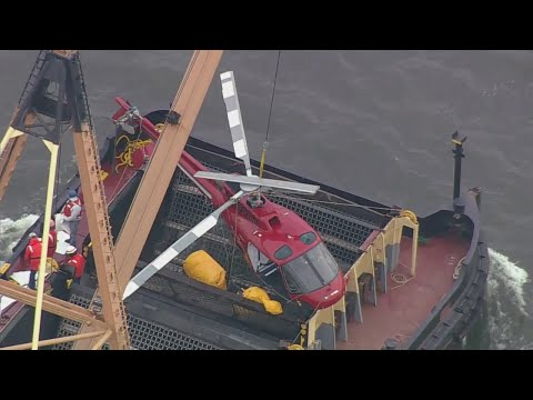 Chopper2 Over Raising Of East River Helicopter