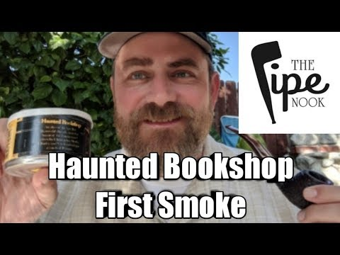 Haunted Bookshop First Smoke