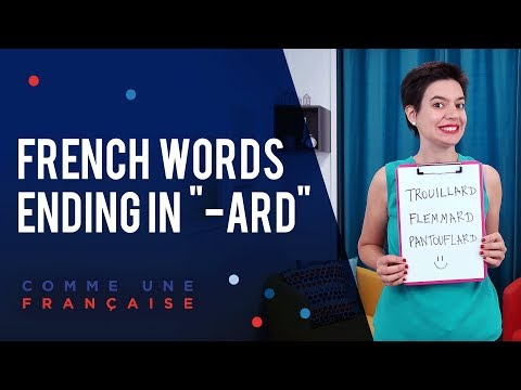 I love you in French (+ other French love words) - YouTube