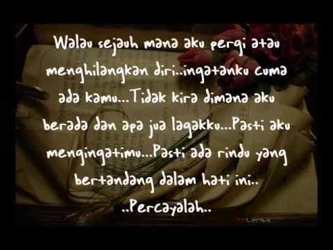 Arrow~Terimalah Sayang Cintaku Seadanya with lyrics