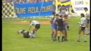 O Elvas - 0 Sporting - 0 de 1987/1988