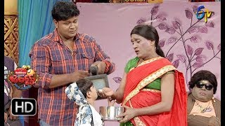 Bullet Bhaskar,Awesome Appi Performance | Jabardasth | 13th December 2018 | ETV  Telugu