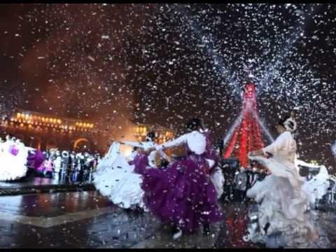 Новый год в Ереване 2012-2013 -Yerevan Tourism Channel
