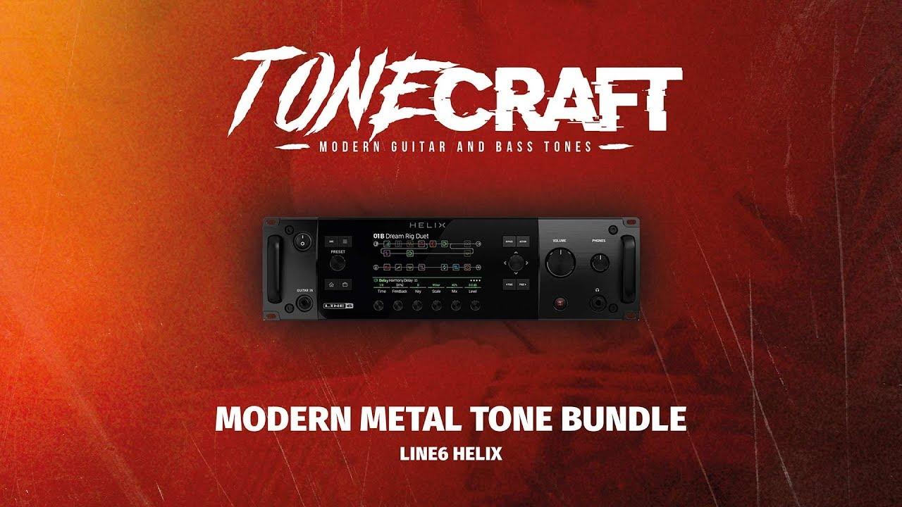 MODERN METAL TONE BUNDLE / Guitar and bass presets bundle for Line 6 Helix    Develop Device