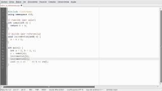 C++ - Paso por valor y por referencia