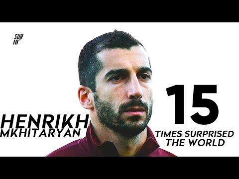 15 Times Henrikh Mkhitaryan Surprised The World!