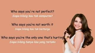 Who Says - Selena Gomez & The Scene  (Lyrics + Terjemahan Indonesia)