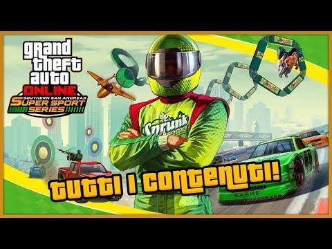 """TUTTI I CONTENUTI DEL DLC """"Sfide sfrenate a San Andreas"""" DI GTA 5 Online A SORPRESA! (GTA 5 ITA)"""