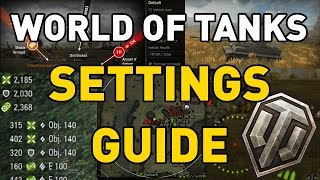 World of Tanks || Settings Guide #TankBetter