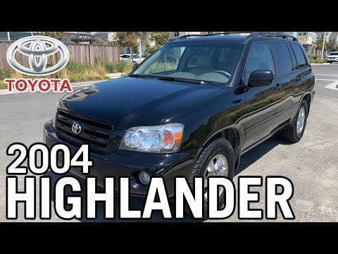 ==SOLD== ✭2004 Toyota Highlander - 7 Seater - 47 Service Records - Clean Title!