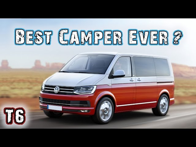 VW T6 2017 California - VW Bus Campervan Overview - YouTube
