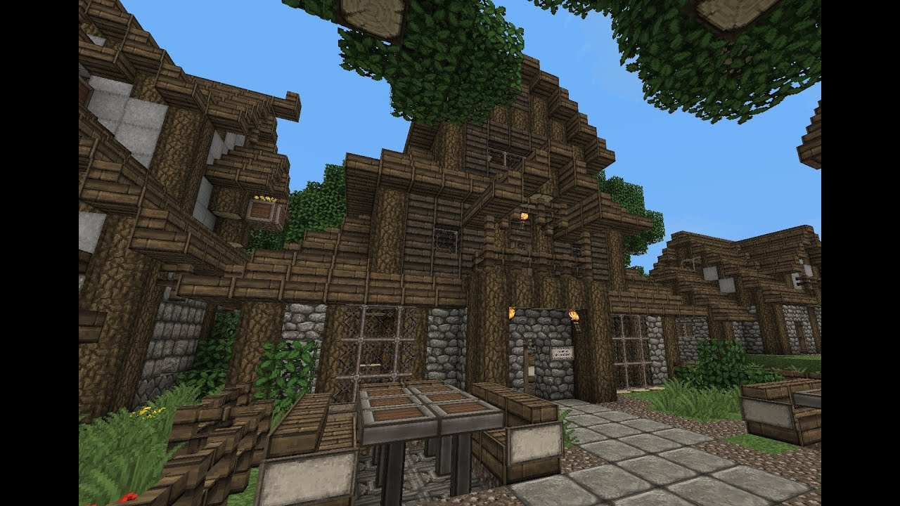 How To Build A Medieval Tavern In Minecraft