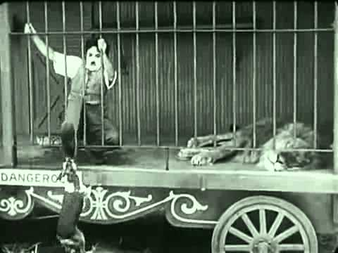 Silent Movie The Lion Cage