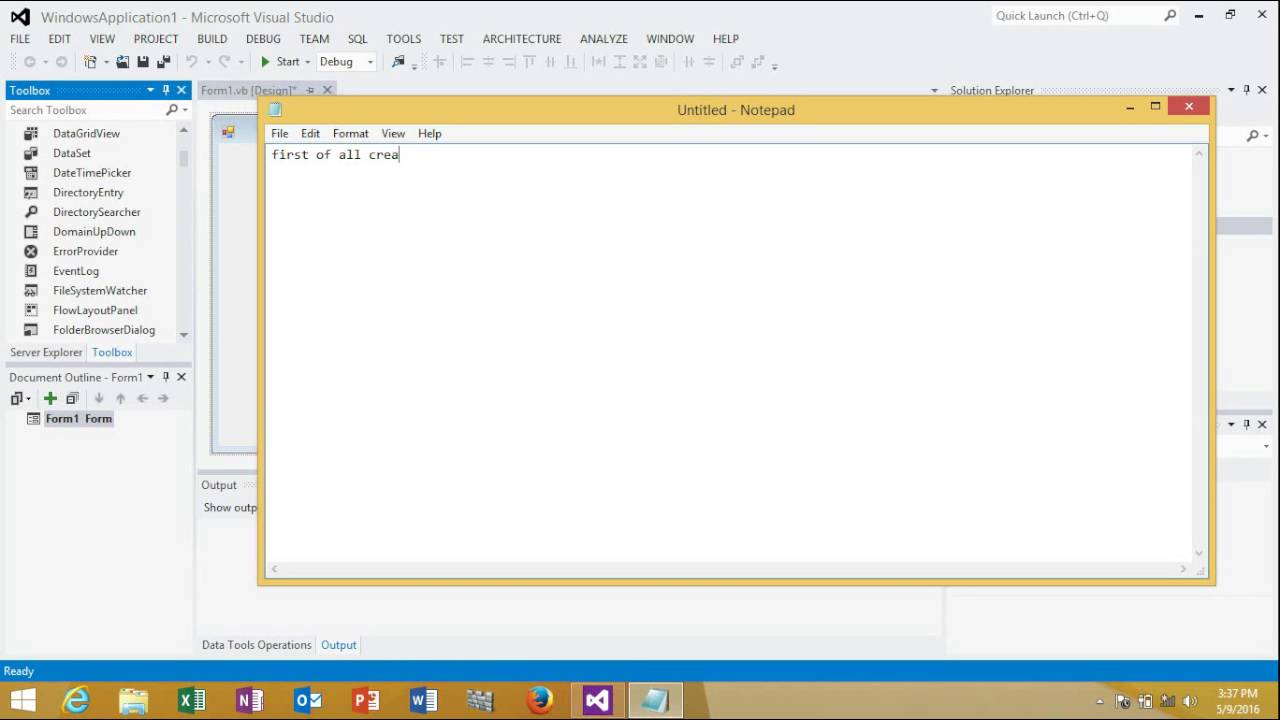 How To Create A Report Using Crystal Reports And Visual Studio 2012