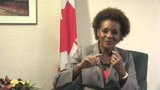 EN-RH Michaëlle Jean speaks about education and especially the role of women