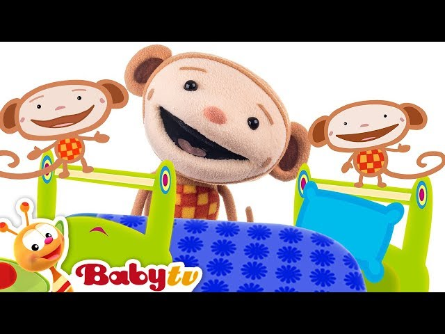 Five Little Monkeys with Oliver | BabyTV