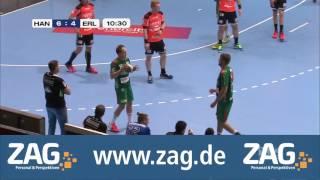 Gesamtes Spiel | DIE RECKEN - TSV Hannover-Burgdorf vs. HC Erlangen | 12.11.2016