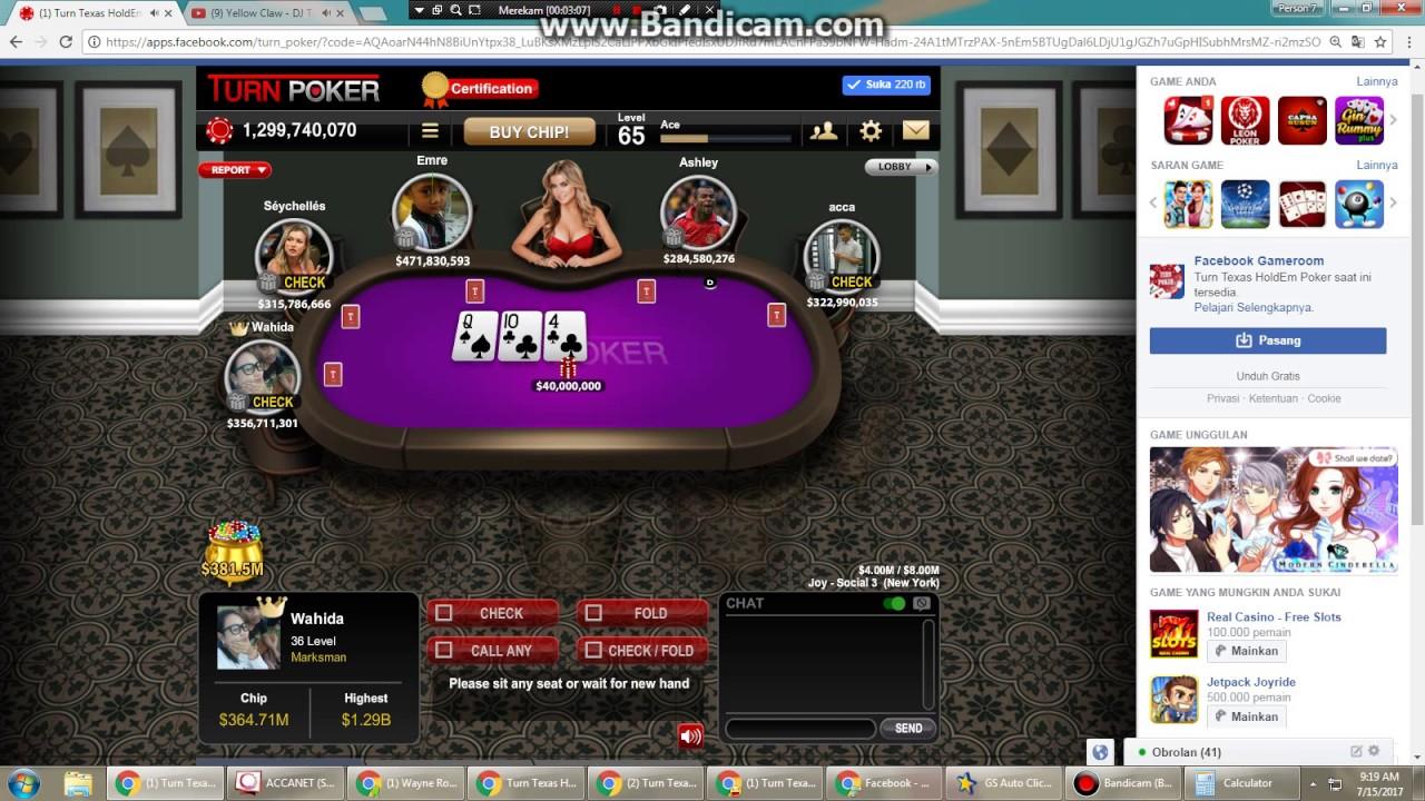 Turn Poker Jack Pot Youtube