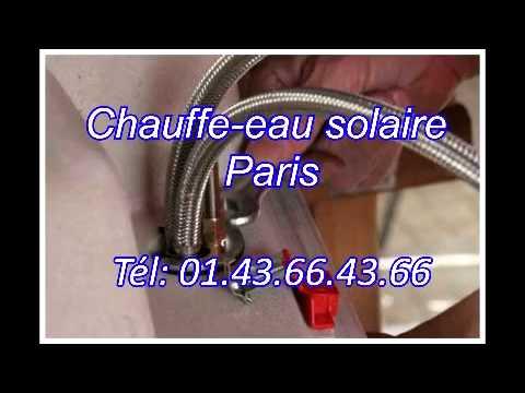 Chauffe-eau solaire paris Tél: 01.43.66.43.66