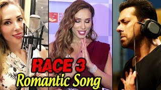 RACE 3 : Iulia Vantur Talks About Singing Romantic Song With Salman Khan |  Mijwan Fashion Show 2018