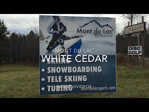 Disc Golf Mont Du Lac White Cedar Holes 1-9. Commentary.