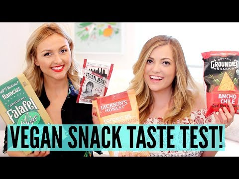 VEGAN SNACK TASTE TEST!