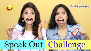"""Speak out challenge""