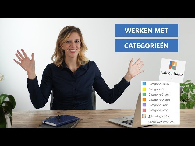 Outlook categoriseren uitgelegd: instellen, wijzigen en gebruiken