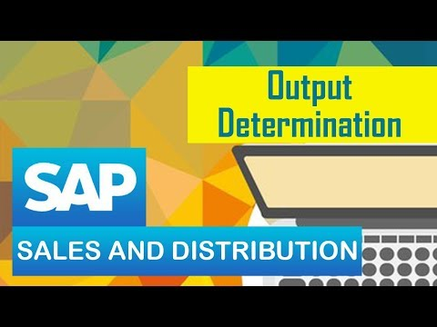 Output Determination | Steps for Creating Output Determination